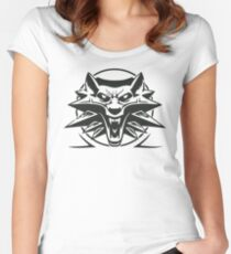 The Witcher Black Women's Fitted Scoop T-Shirt