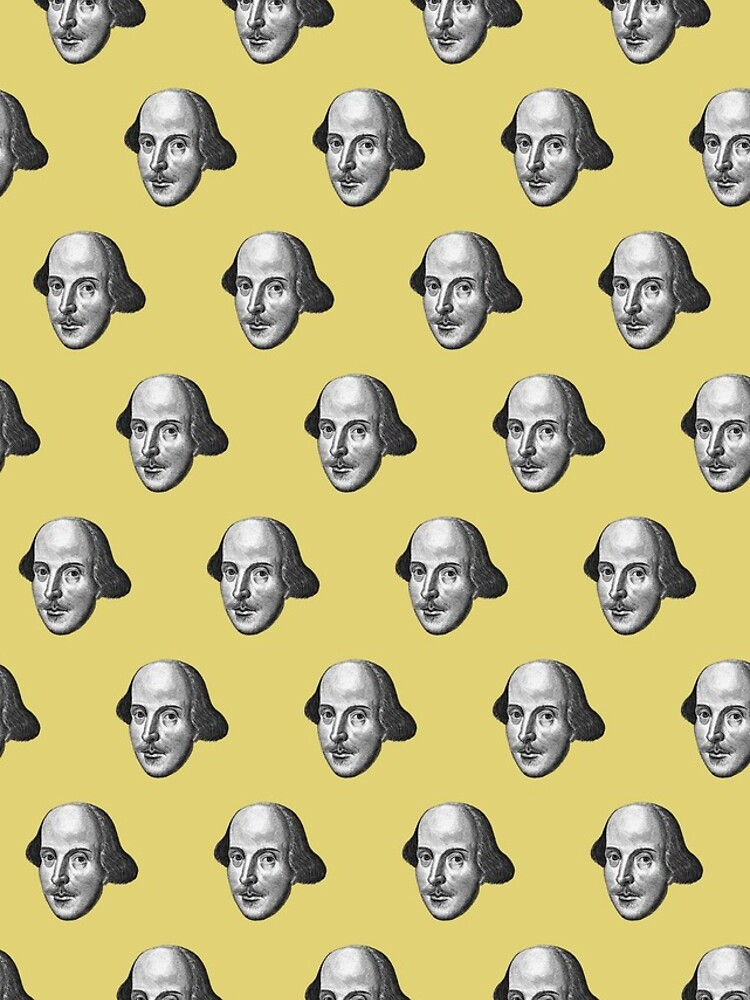 Shakespeare Etching Pattern (Yellow) by daltonrowe