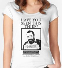 Jean Valblack Women's Fitted Scoop T-Shirt