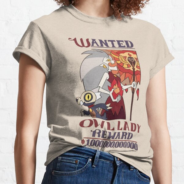 Wanted Owl Lady (The owl house| Perfect Gift Classic T-Shirt