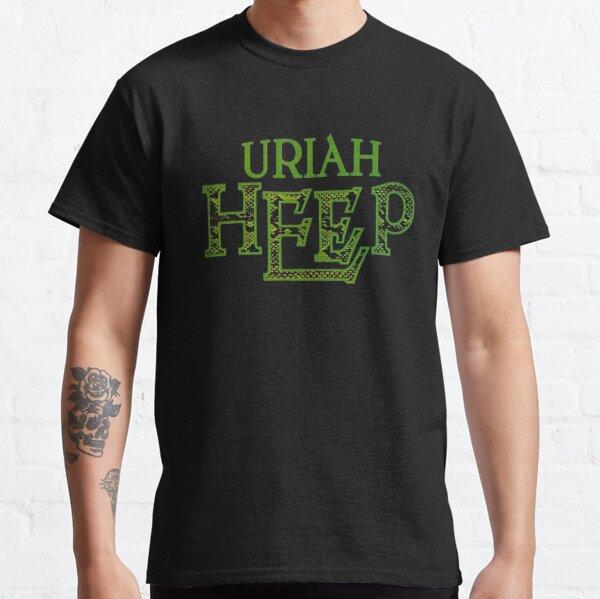 blackwhitereddesign heavy metal uriah heep band logo Classic T-Shirt