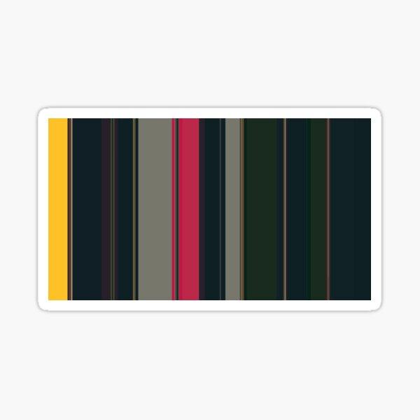 Multi Color Vertical Stripes 15 Sticker
