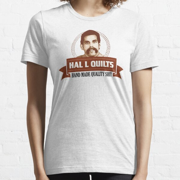 Hal L Quilts Hand Made Quality Happy Gilmore Essential T-Shirt