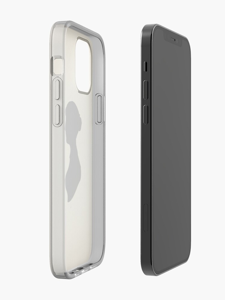 Alternate view of Jane Austen Silhouette (Big) iPhone Case & Cover