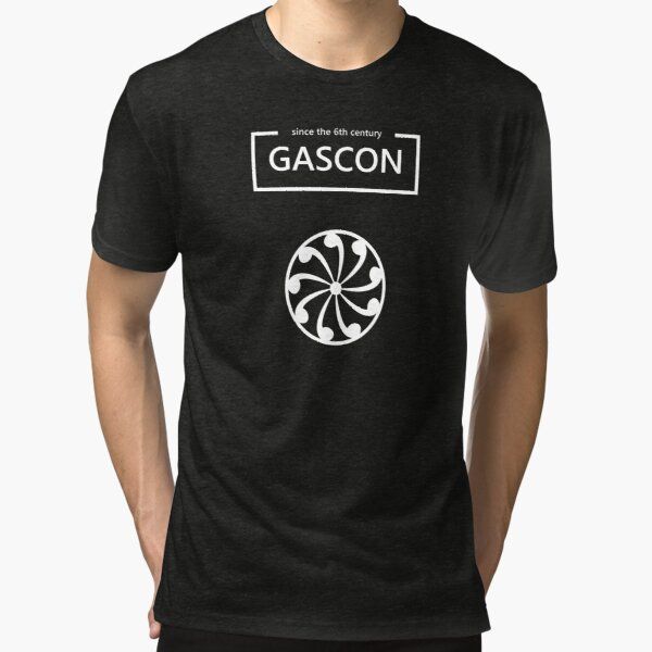 Gascon since the 6th century T-shirt chiné