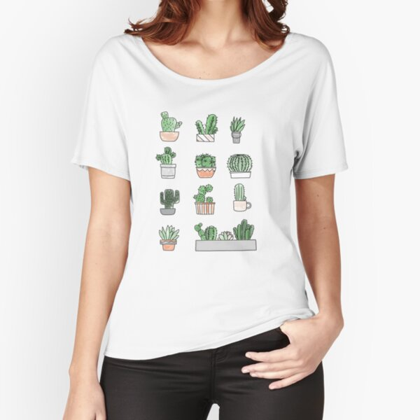 Cactus Relaxed Fit T-Shirt