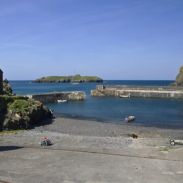 The Harbour at Mullion Cove by pluffy