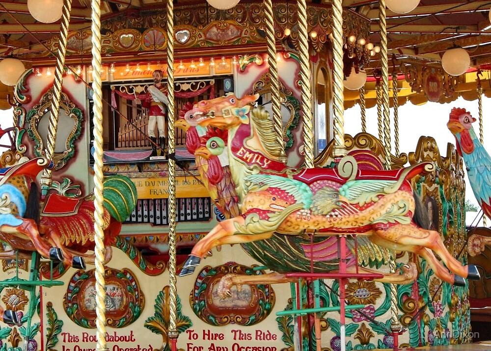 A Ride on a Carousel by AnnDixon