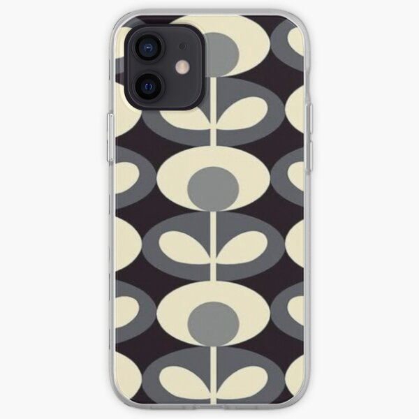 abstract floral, orla kiely design  iPhone Soft Case