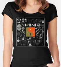 Bon Iver - 22, A Million Women's Fitted Scoop T-Shirt