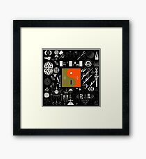 Bon Iver - 22, A Million Framed Print