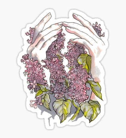 Lilacs Sticker