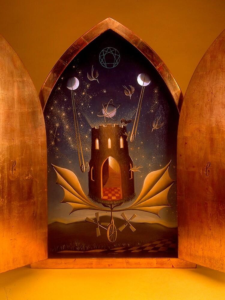 Icon (Window To The Magic World), by Remedios Varo by ArautoCosmico