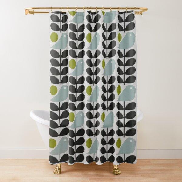 abstract multi stem bird - orla kiely  Shower Curtain