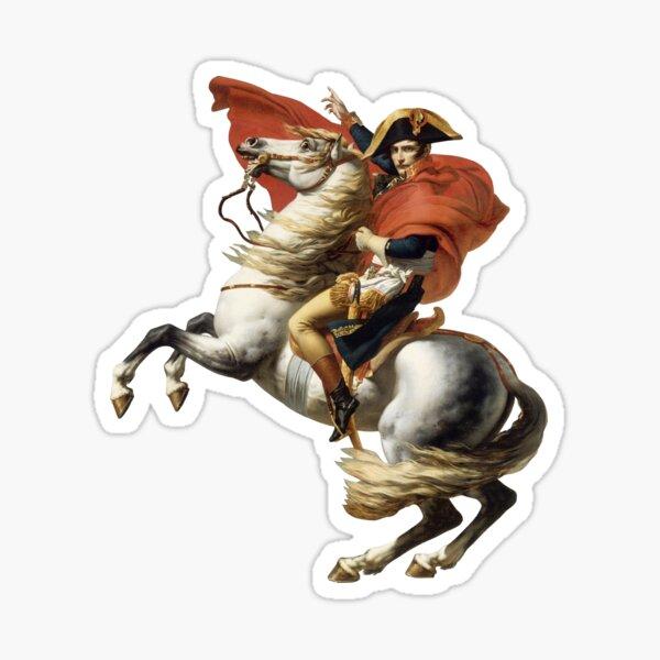 Napoleon Crossing the Alps Sticker