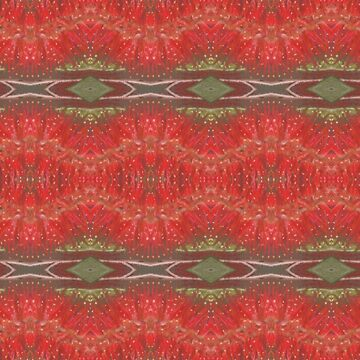 Bottle brush floral pattern by Ainslie1