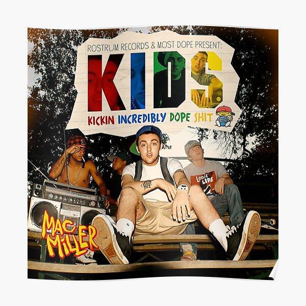 Mac Kids Poster Poster