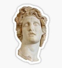 Helios Bust/Macintosh Plus Sticker