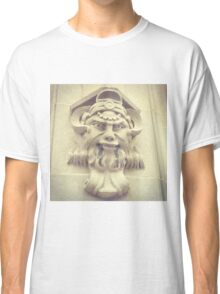 Face on the Wall Classic T-Shirt