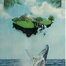 island humpback whale by PatinoDesign