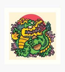 Rich Boi Art Print