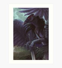 Morrigane Art Print