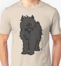 Bouvier des Flandres - Black T-Shirt