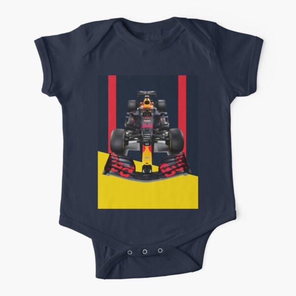 Team Max Verstappen Racing F1 Car   Formula Uno Body de manga corta para bebé
