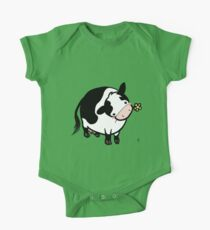 Dairy Cow One Piece - Short Sleeve