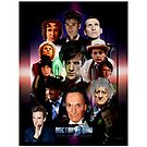 Dr.Who 50th Anniversary Single Duvet Cover design by Andrew Wells