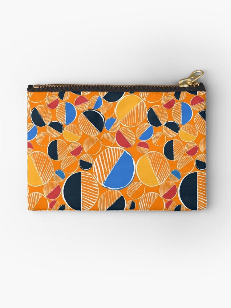 Orange Doodle  by mariabogade