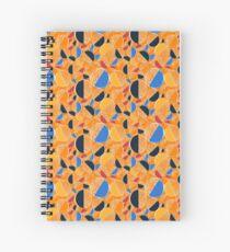 Orange Doodle  Spiral Notebook