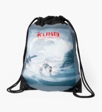 Kubo - The Ice Fields Drawstring Bag