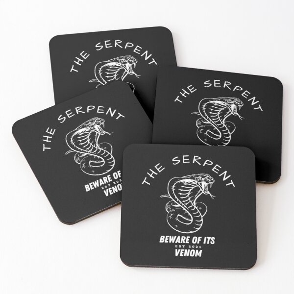 The Serpent Coasters (Set of 4)