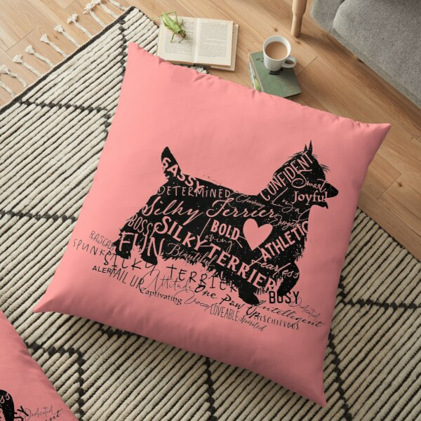 A Silky Terrier is All This Floor Pillow