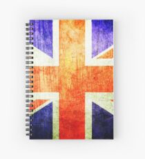 Union Jack - Great Britain  Spiral Notebook