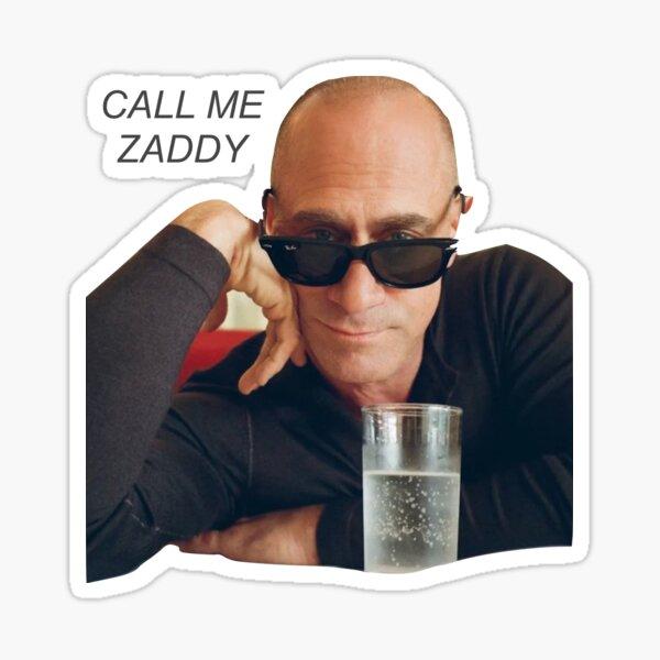 zaddy meloni Sticker