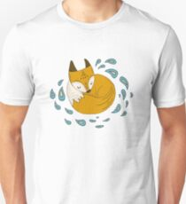 Sleepy fox Unisex T-Shirt
