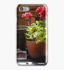 Potting Shed iPhone Case/Skin