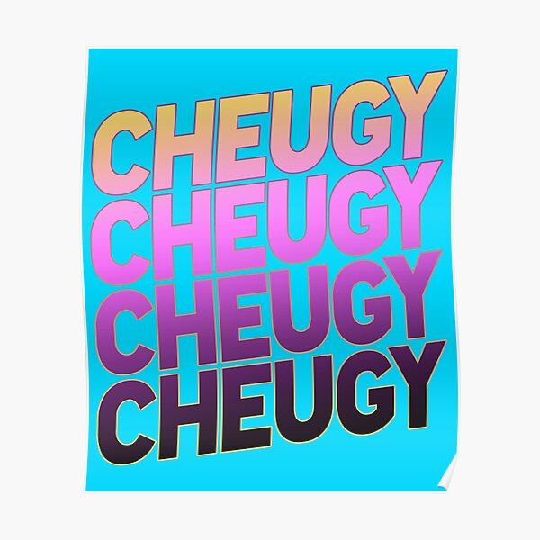 Cheugy 90's Aesthetic  Poster