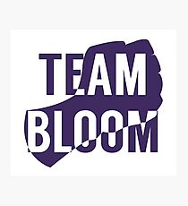 Team Bloom Photographic Print