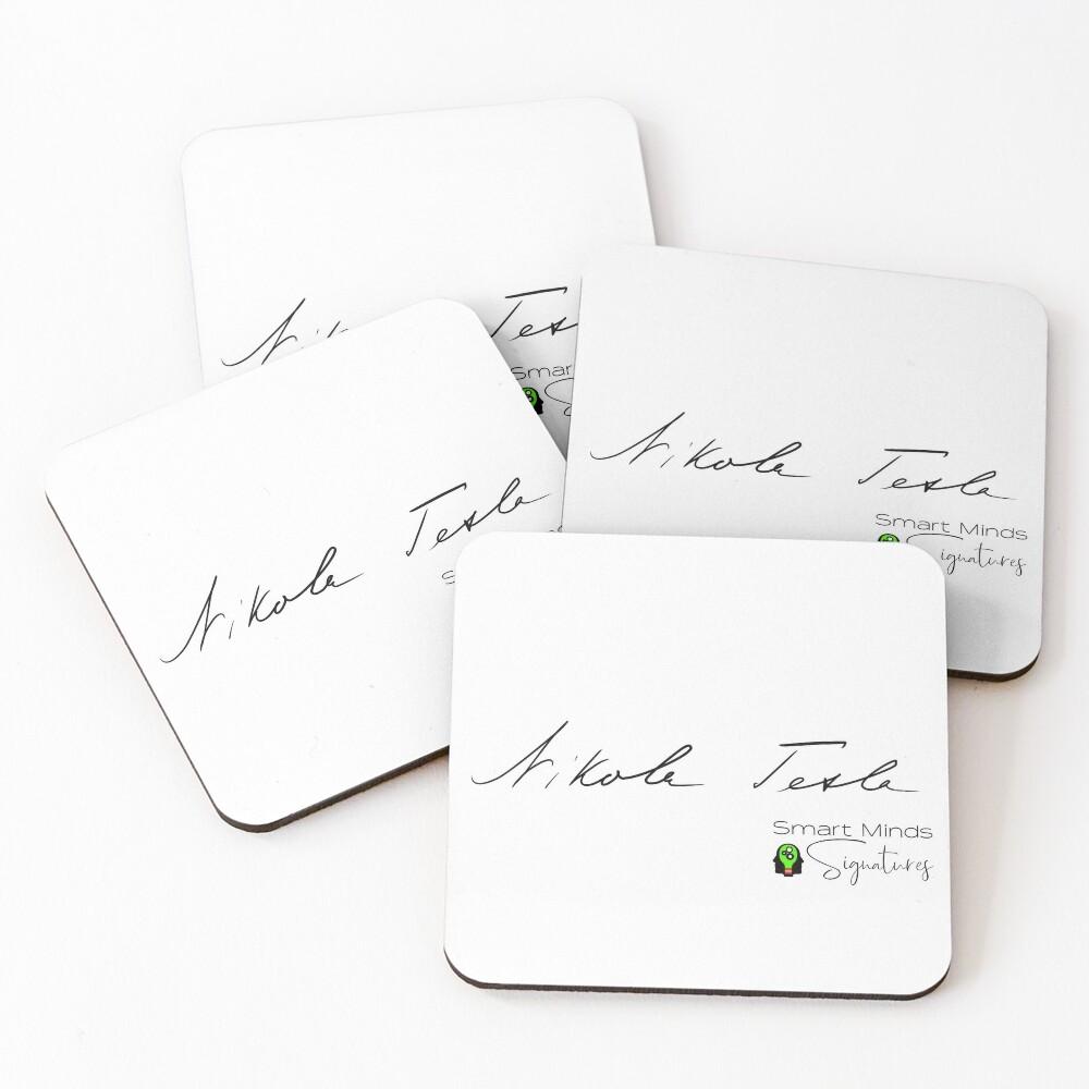 Signature Series Nikola Tesla Coasters (Set of 4)
