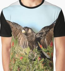 Carnaby's Black-Cockatoo Graphic T-Shirt