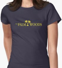 Have a Palm Woods Day Women's Fitted T-Shirt