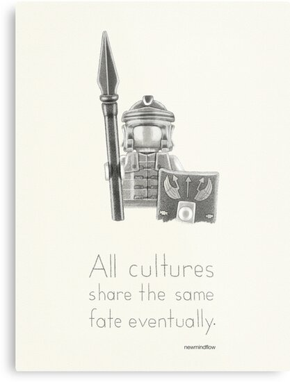 Rome - All Cultures Share the Same Fate Eventually by newmindflow