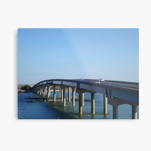Brigantine Bridge - 2  ^ Metal Print