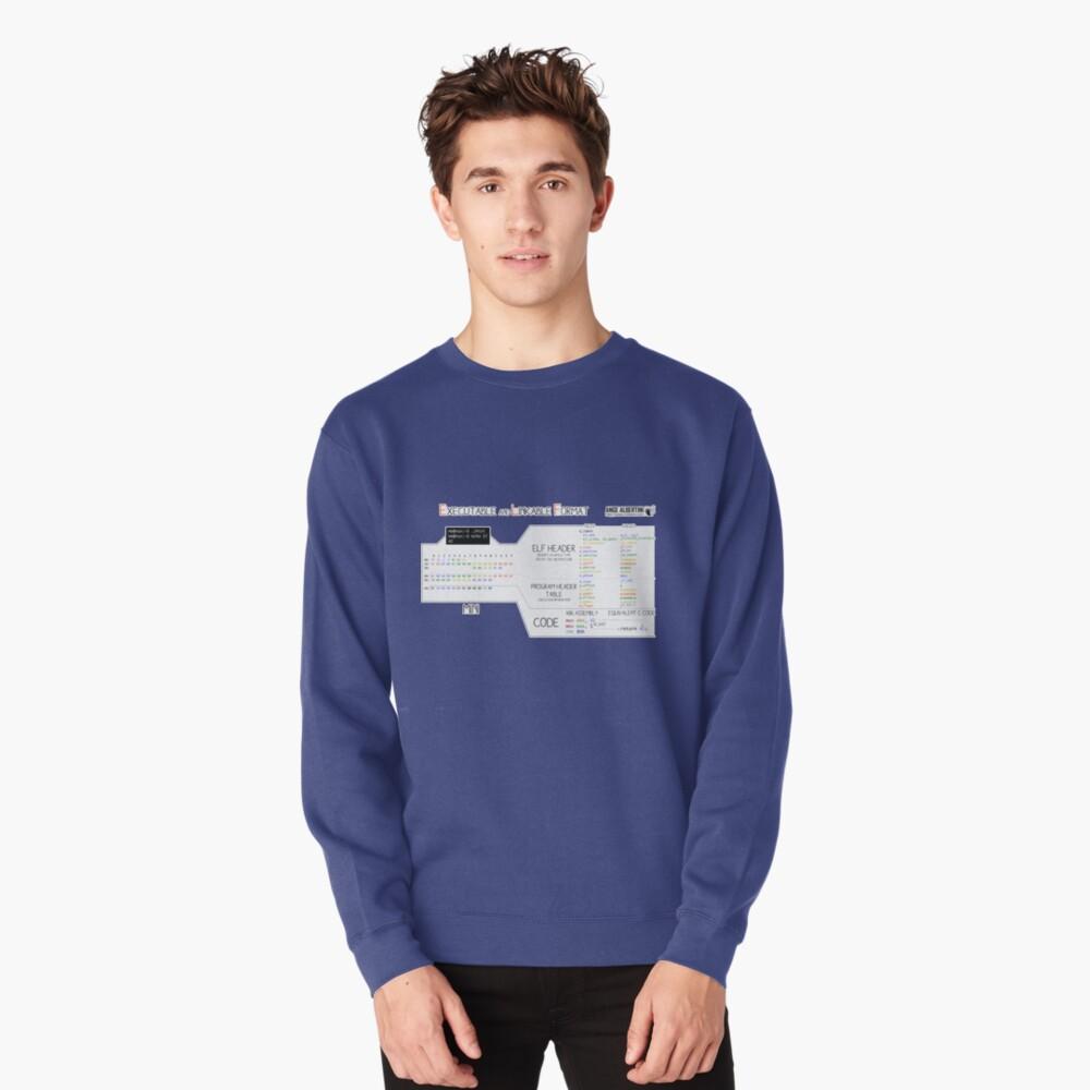 a mini ELF Pullover Sweatshirt