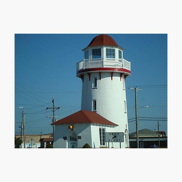 Brigantine Lighthouse  ^ Photographic Print