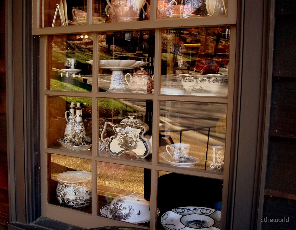 Old World Storefront Window   ^ by ctheworld