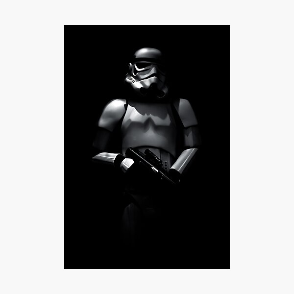 Shadowtrooper Photographic Print
